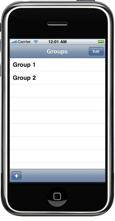 Designing a Protocol for the Group Edit View Controller