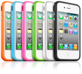 Apple iPhone Bumper Cases available in a range of colours
