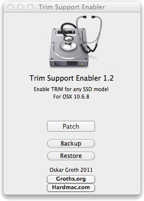 TRIM Enabler for 3rd Party SSD's on OS X Lion – Review