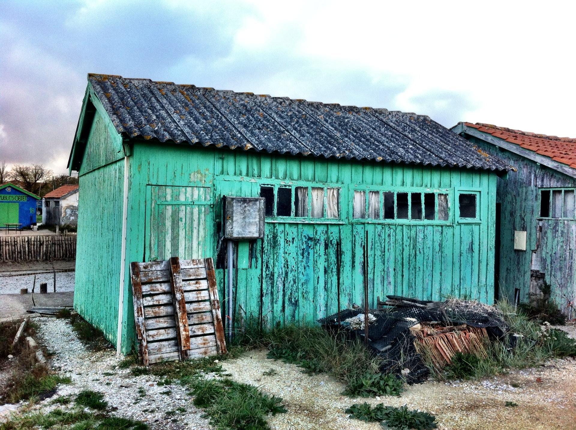 Colourful Shacks and Workshops, île-de-Oléron