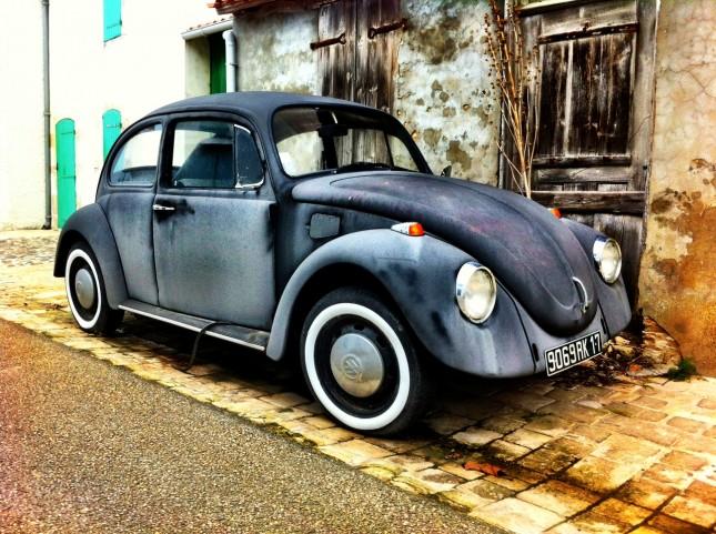 Vintage Volkswagen Beetle, île de Ré