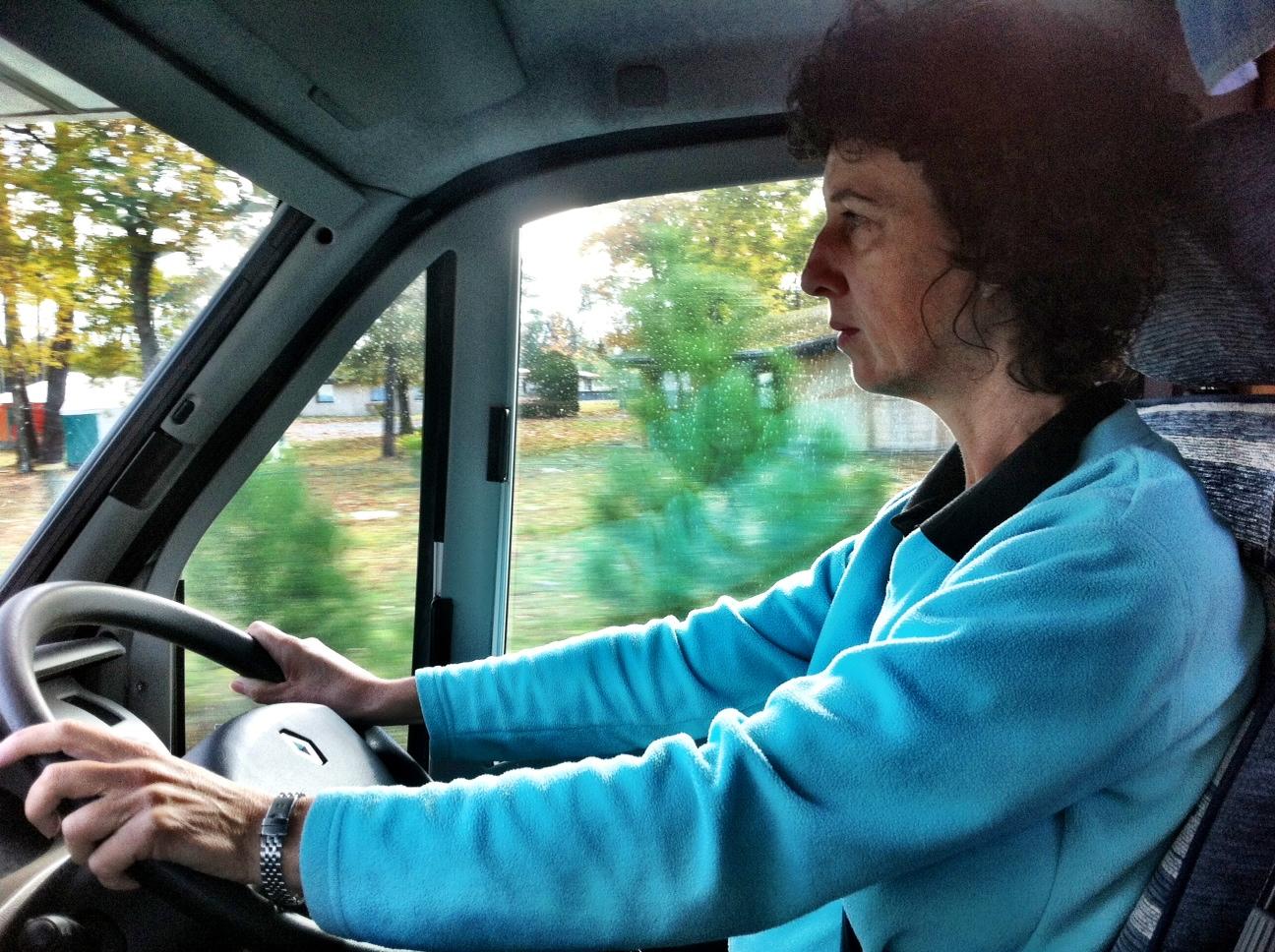 Mel Takes the Wheel