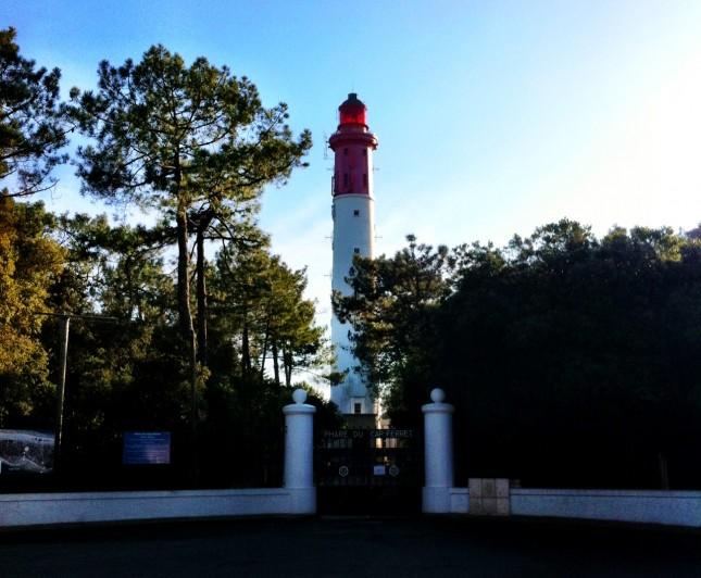 The Phare du Cap Ferret - A Lighthouse!