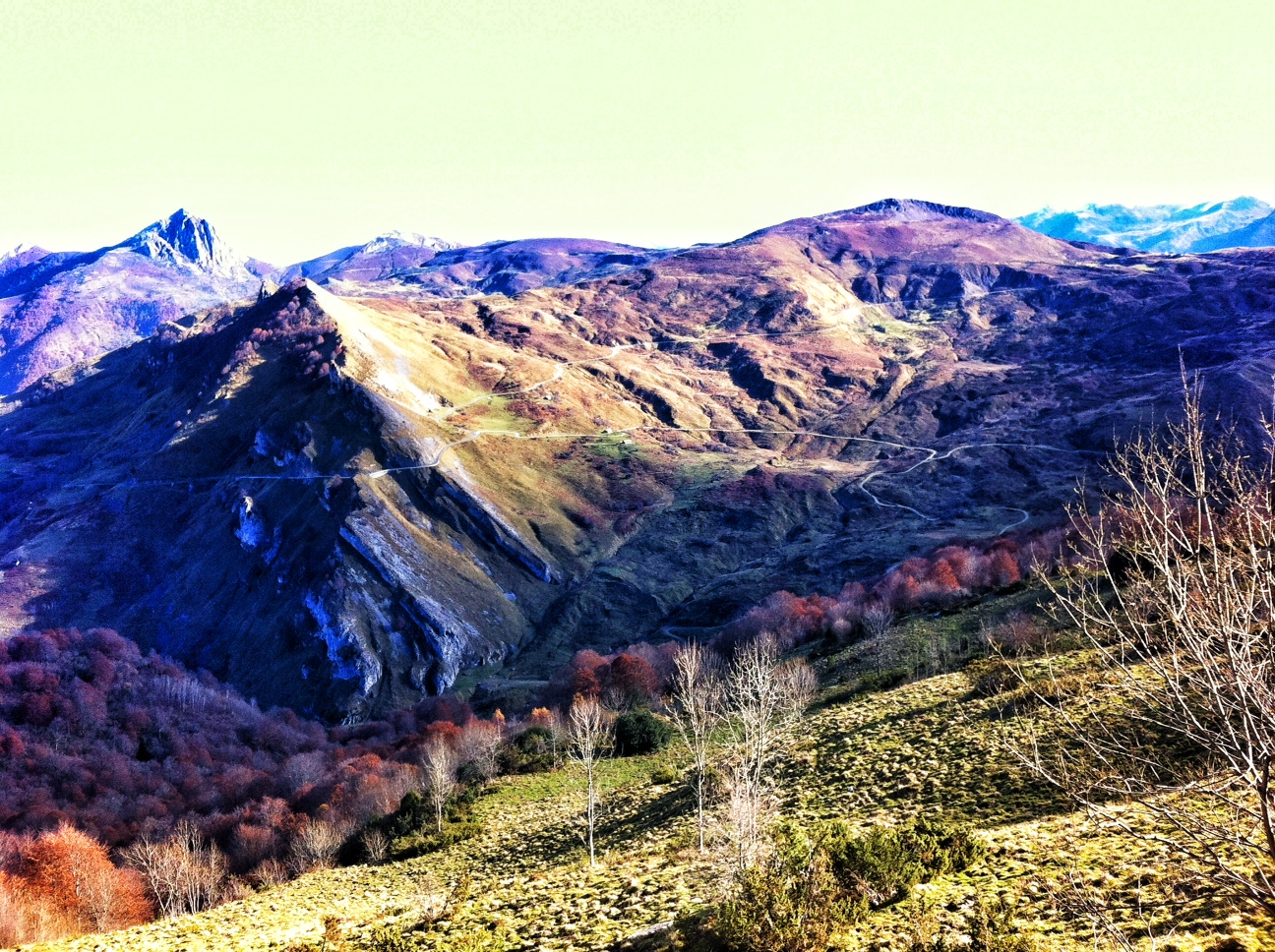 Stunning Valley Below the Col d'Aubisque