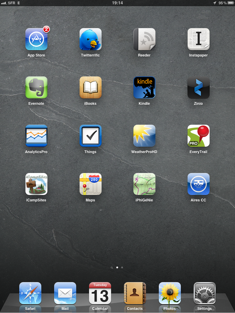 My iPad Home Screen App Review