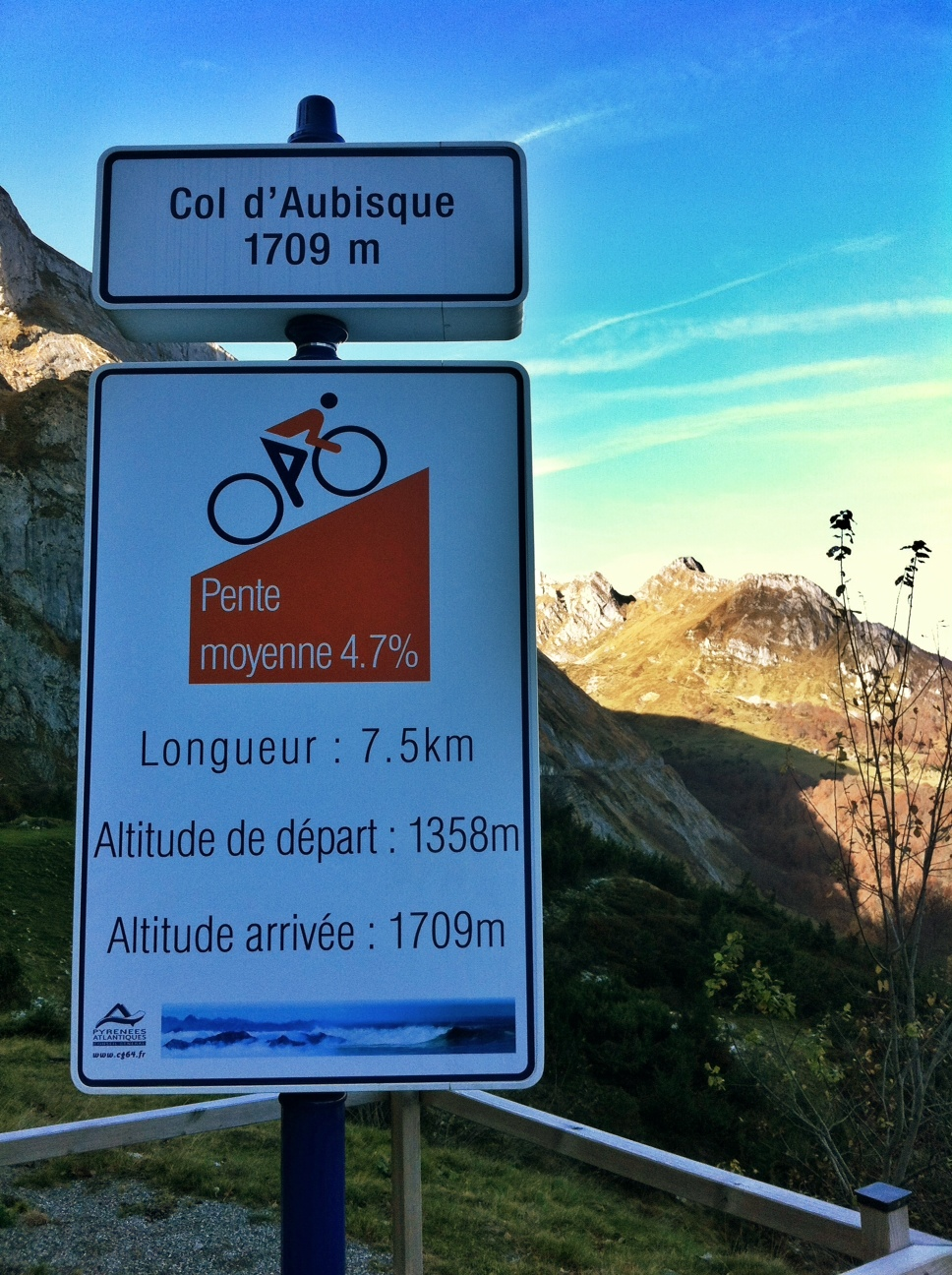 Col d'Aubisque – 2nd Col in the Bag of Cols
