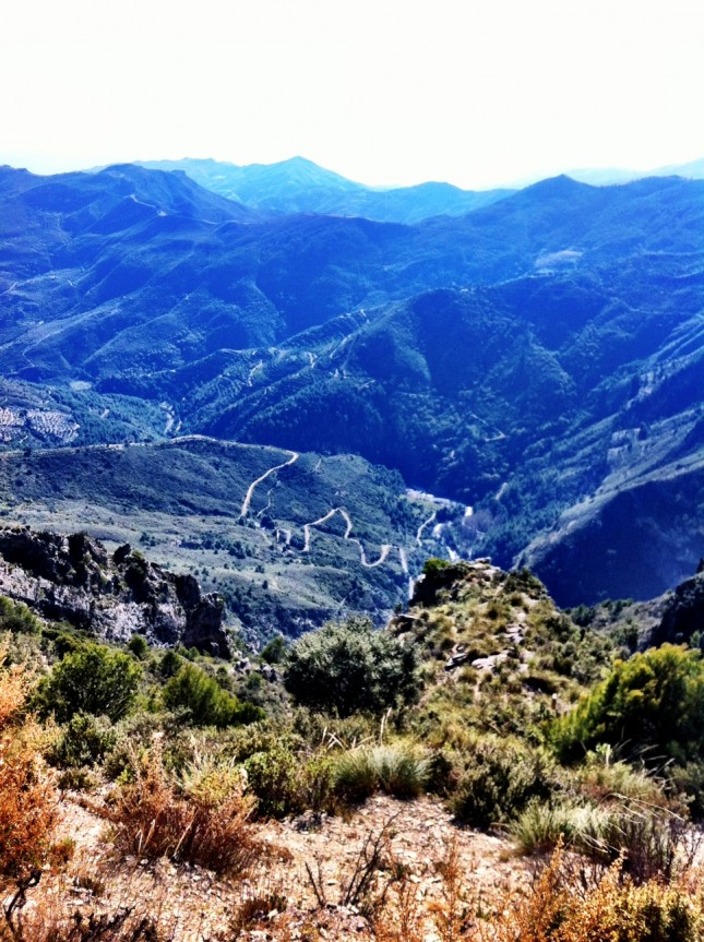 A Wonderfully Craggy Valley, near Otivar, Andalucia
