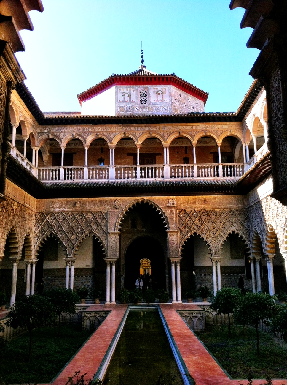 The Beauty of the Palace of The Royal Alcazars of Seville