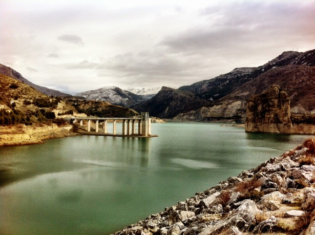 The Reservoir at Güéjar Sierra, Sierra Nevada, Spain