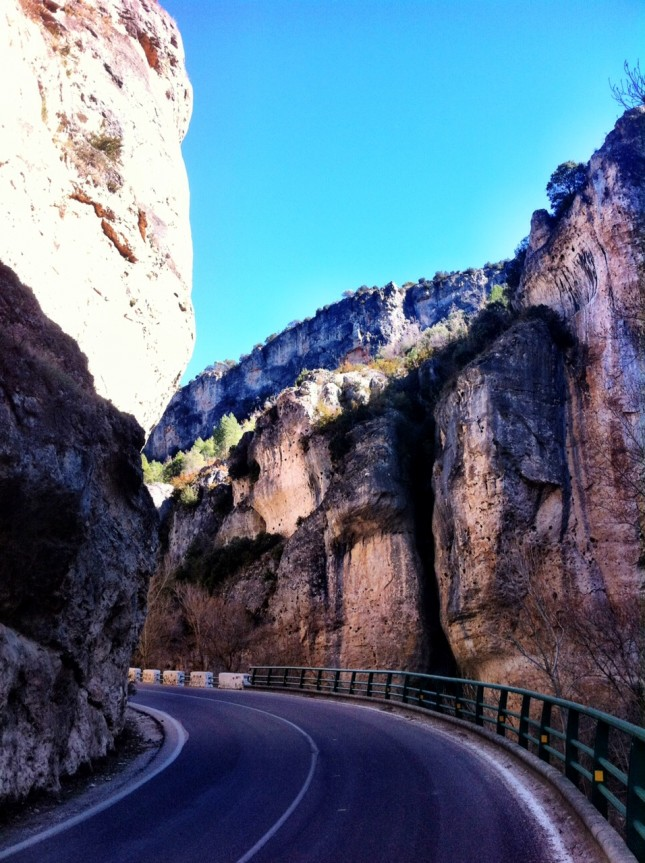 The narrows of the Beteta Gorge, between Villaconejos de Trabaque and Beteta