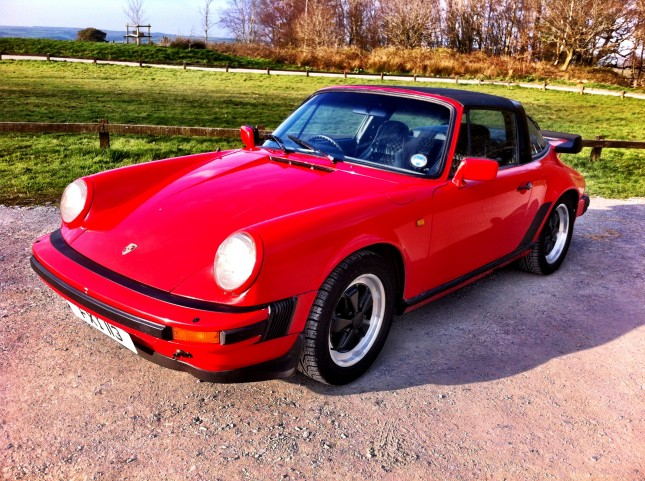 For Sale - Porsche 911 3.0 SC Targa from 1982