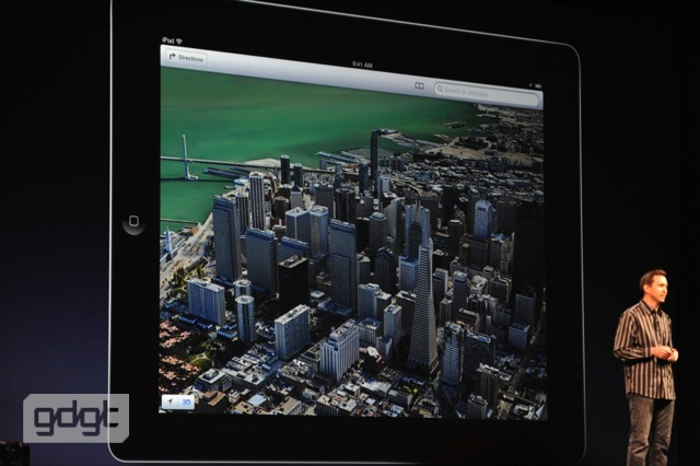 New 'Flyover' 3D mapping available on iOS 6