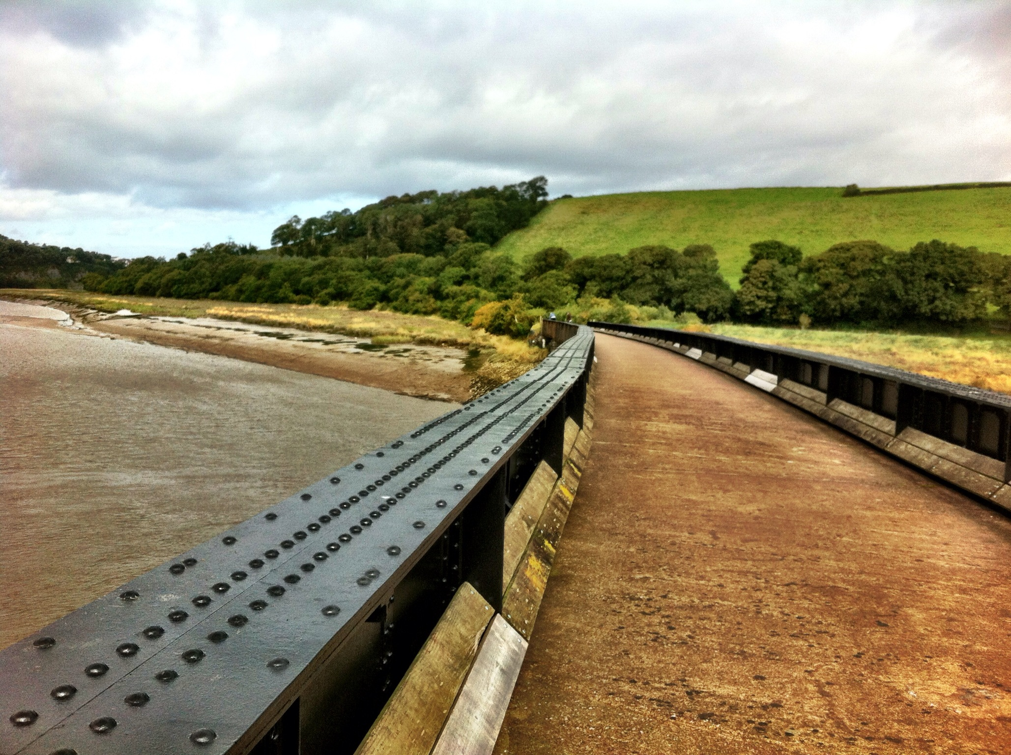 Cycling the Tarka Trail, North Devon