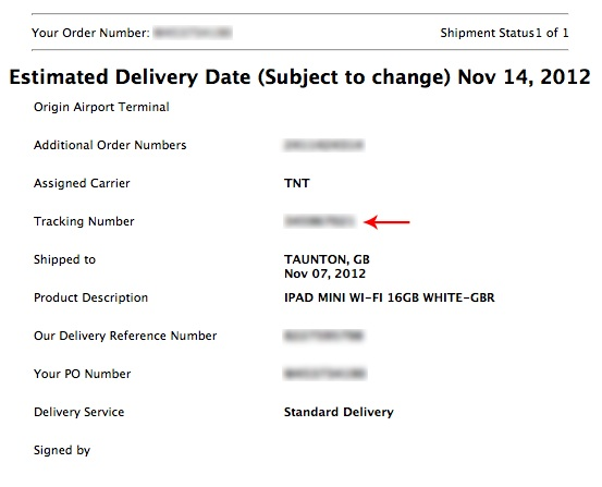 technology apple s track shipment not working how to understand