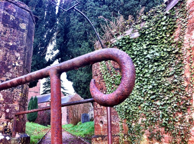Interesting Ironwork in Fitzhead