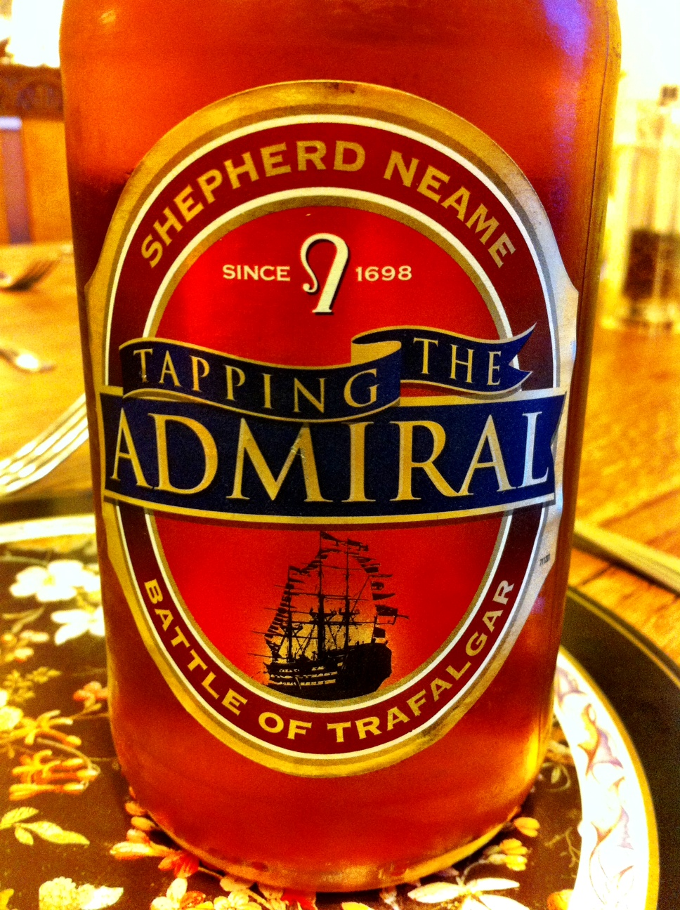 Shepherd Neame's 'Tapping the Admiral'
