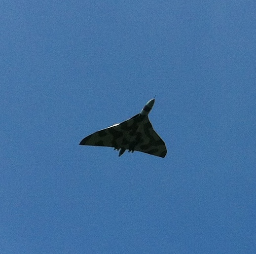 Is this a Vulcan Bomber I see before me?