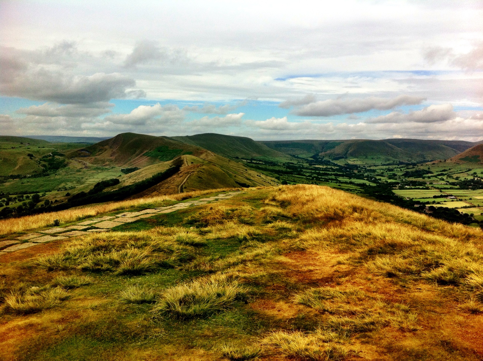 Castleton to Edale Ridge Walk via Jacob's Ladder and the Pennine Way