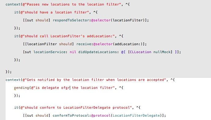 TDD in Objective-C: Scoping an iOS Project via Mocks and Protocols with Unit Tests in Kiwi