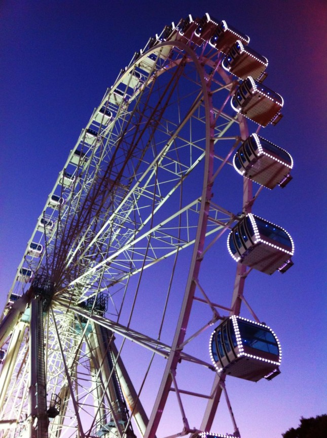A Great Big Wheel in Zaragoza