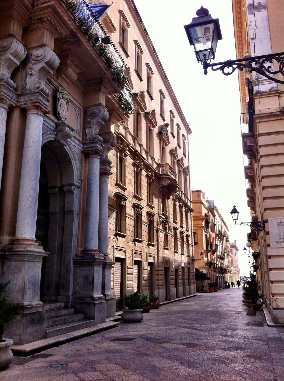 Trapani – Largely Deserted