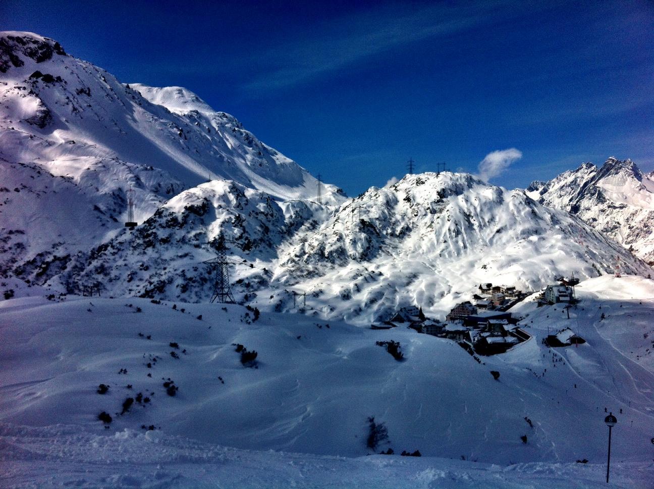 Skiing St. Anton Style