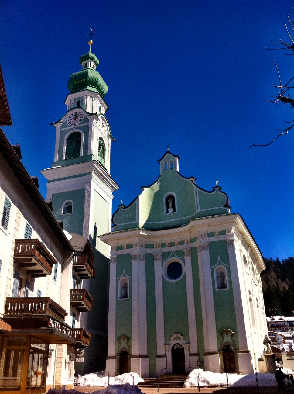 Toblach in the South Tyrol