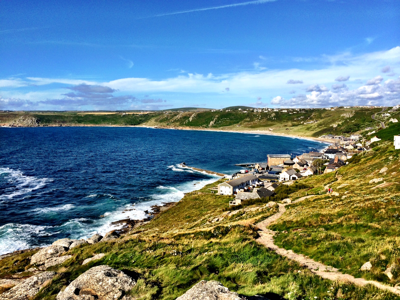 Sennen Cove and Lands End