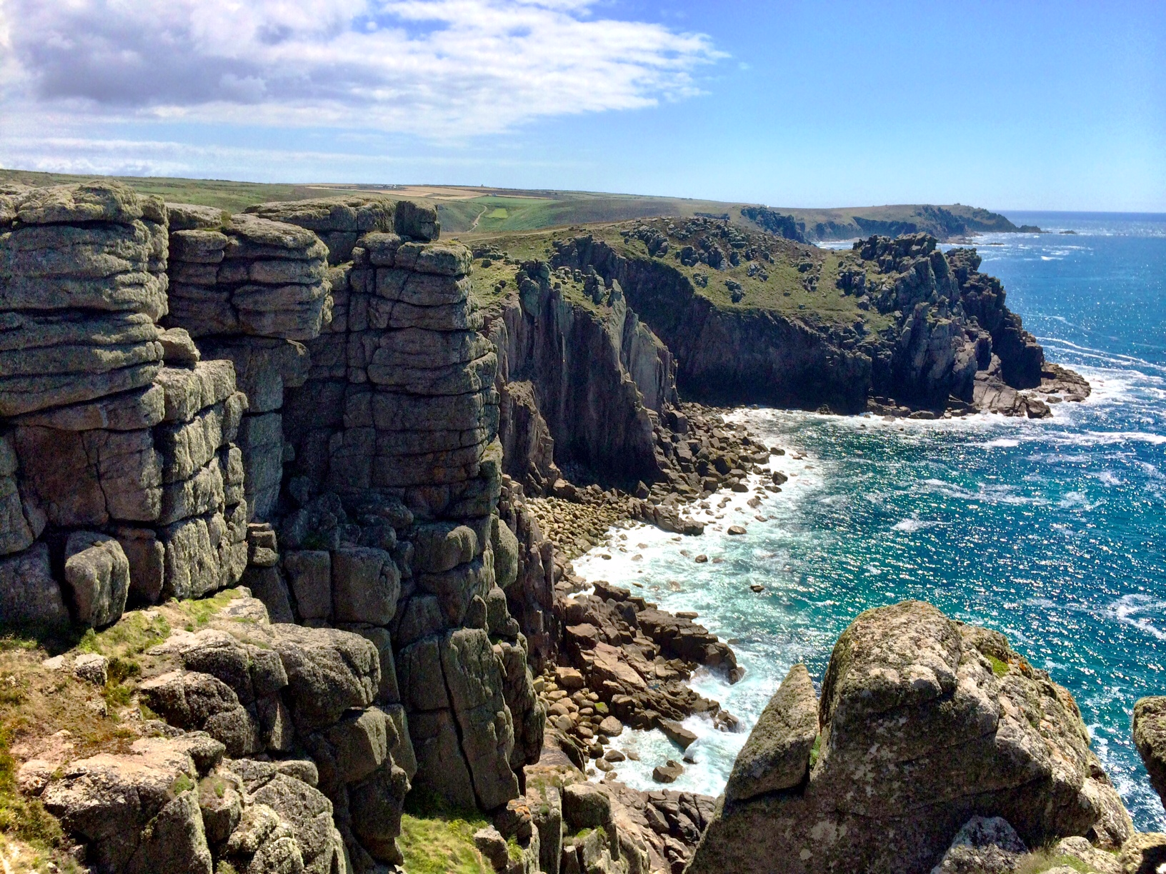 South West Coast Path – Sennen Cove to Porthcurno and Cross Country