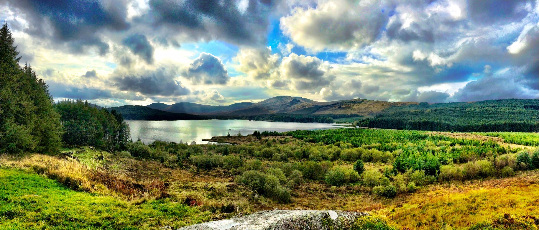 On Foot Around Loch Doon, Loch Riecawr, and Loch Braden