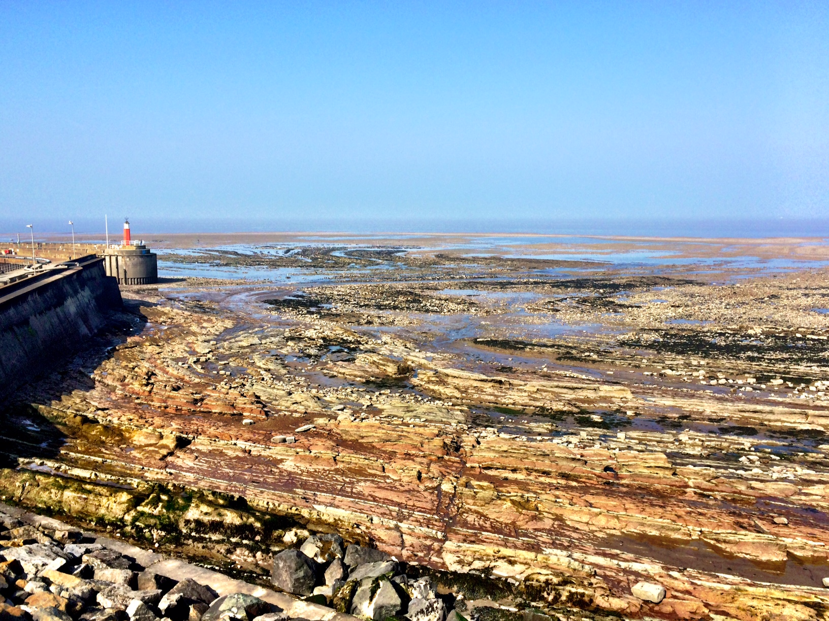 Record Low Tide at Watchet