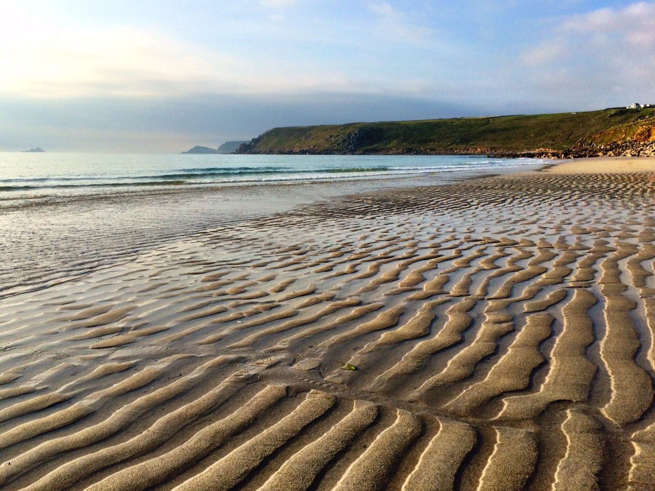 Messing About on Sennen Beach