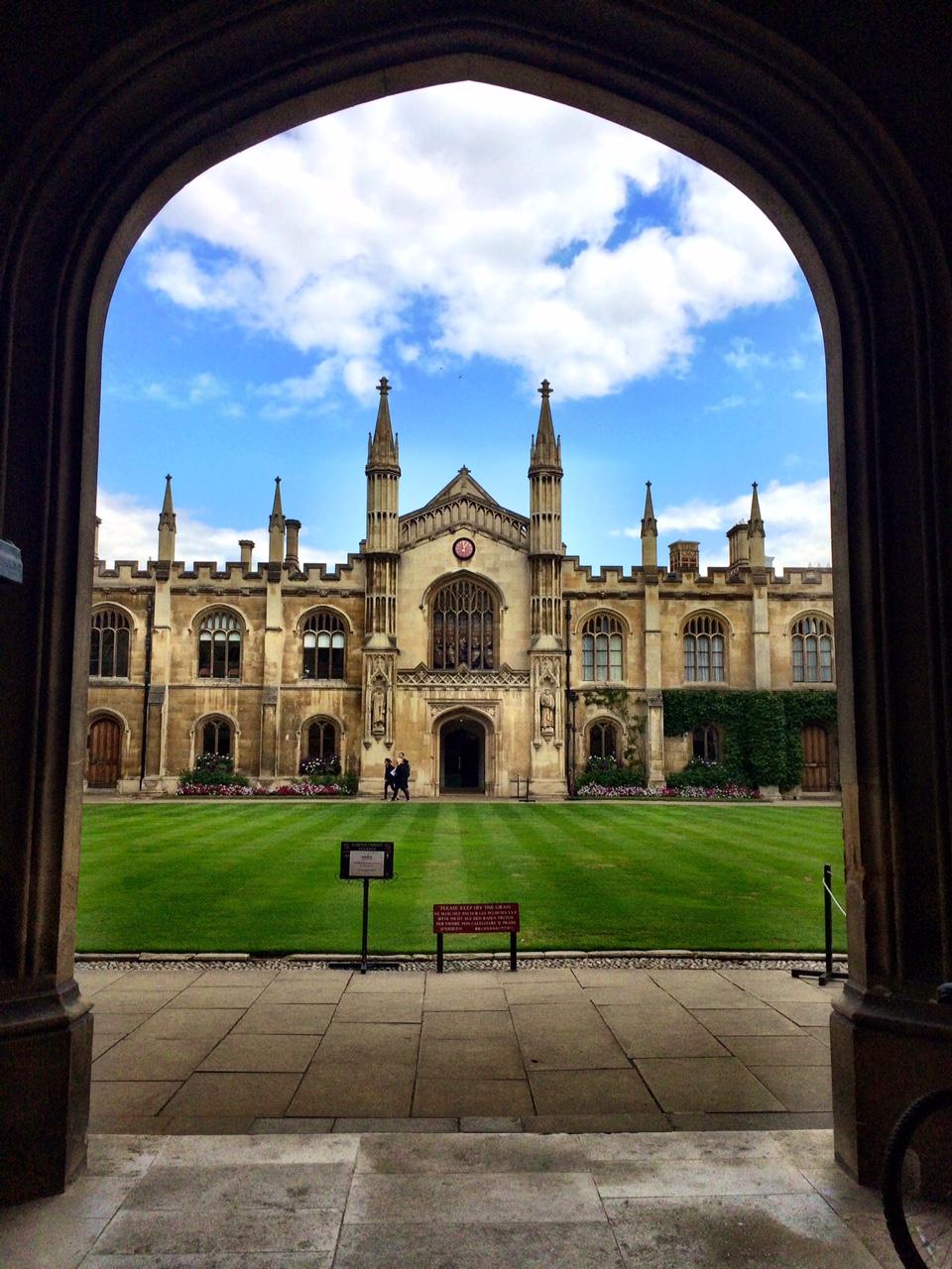 Cambridge, again