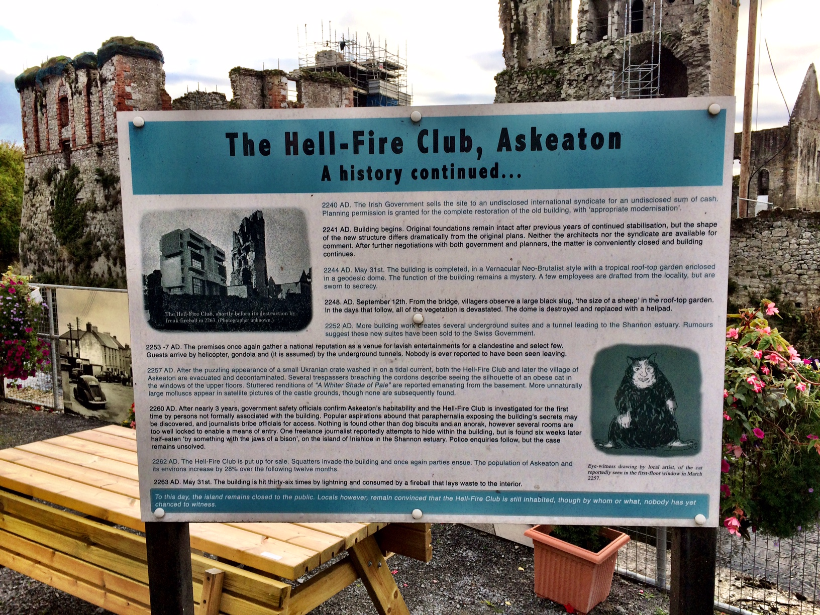 Askeaton, The Hell-Fire Club and Late Night Shenanigans