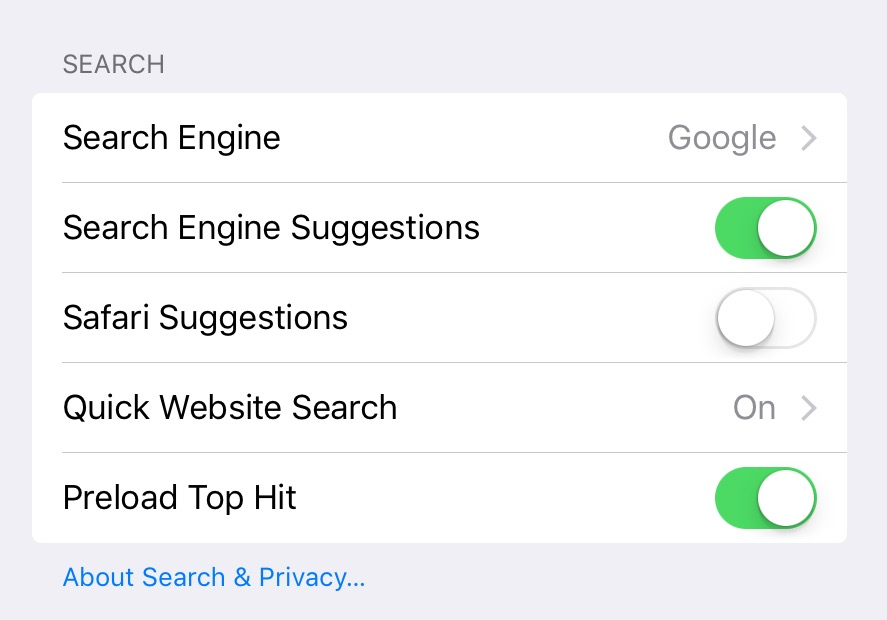 Safari on iOS – Typing or tapping in address bar causes crash