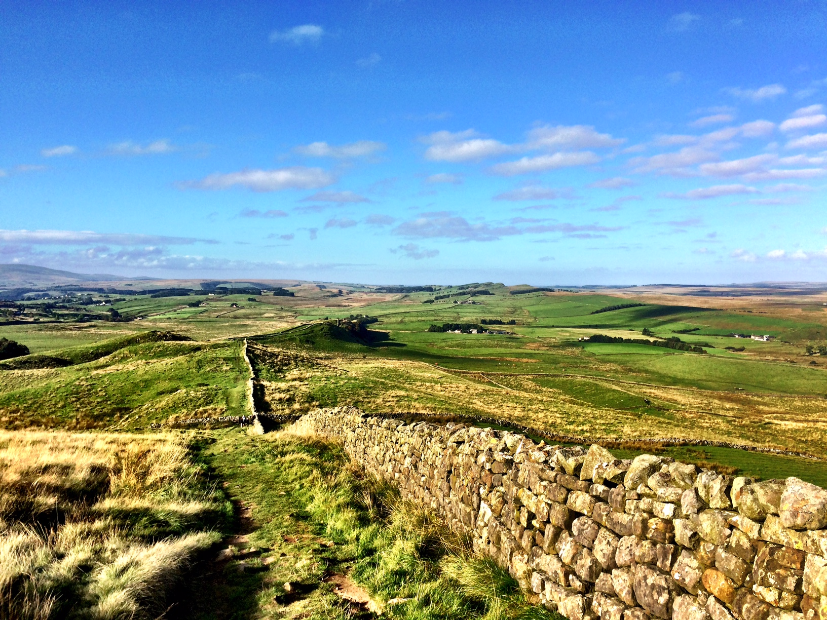 Hadrian's Wall Day 4 – Twice Brewed to Walwick
