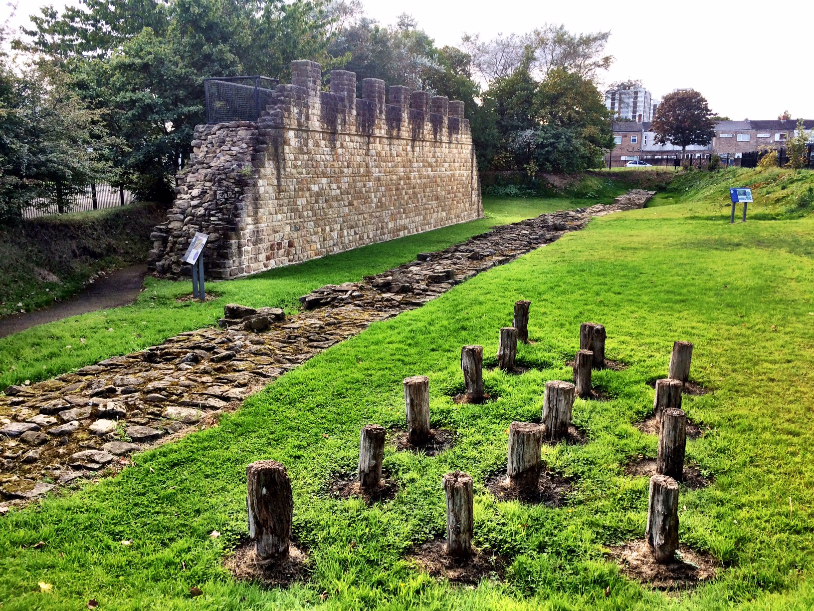 Hadrian's Wall Day 7 – Newburn to Tynemouth